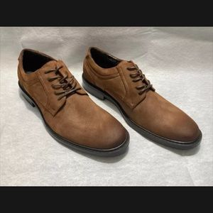 Kenneth Cole Unlisted Brown Men's Oxford Shoes
